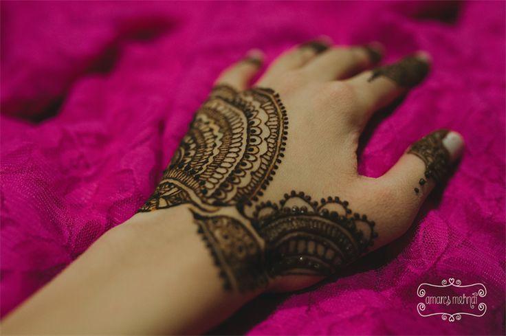 Indian Bridal Simple Mehndi