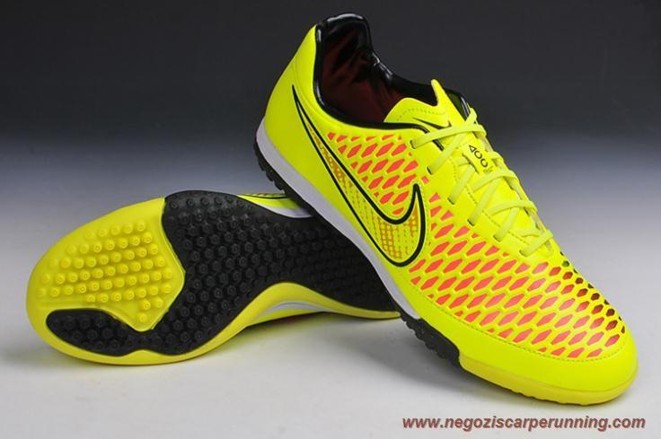 Tensione/Nero/Punch vivo TF Nike Magista Onda Uomo scarpe da calcio online