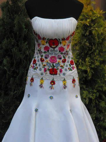 vestido de boda estilo mexicano