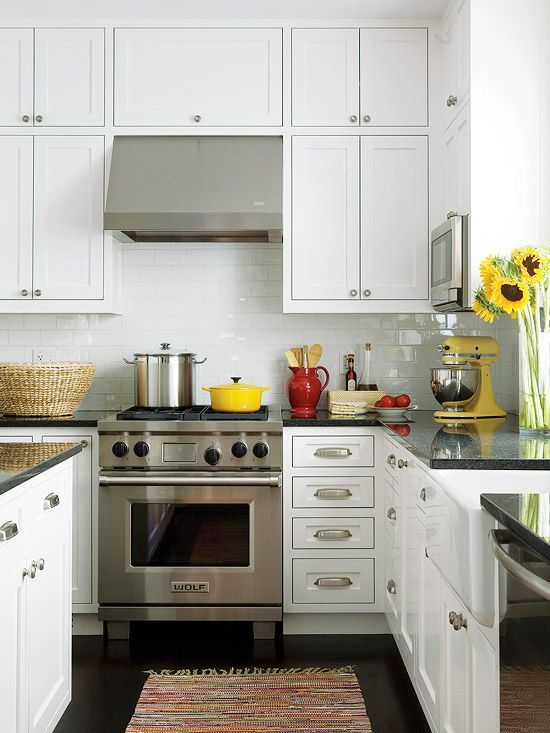 Keep your kitchen spotless by ensuring everything has a place! Check out our favorite cleaning shortcuts here: http://www.bhg.com/homekeeping/house-cleaning/tips/cleaning-shortcuts/?socsrc=bhgpin040915inthekitchen&page=5