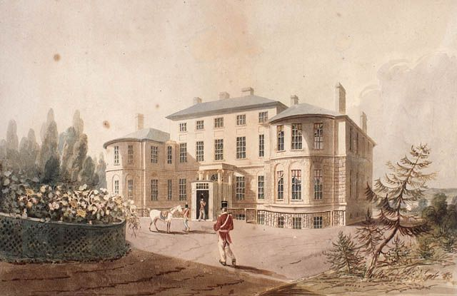 CityScapes: Halifax Government House (completed 1808) - Library and Archives Canada