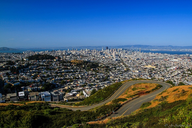 View on SF from Twin Peaks by Jo Asakura, via Flickr.