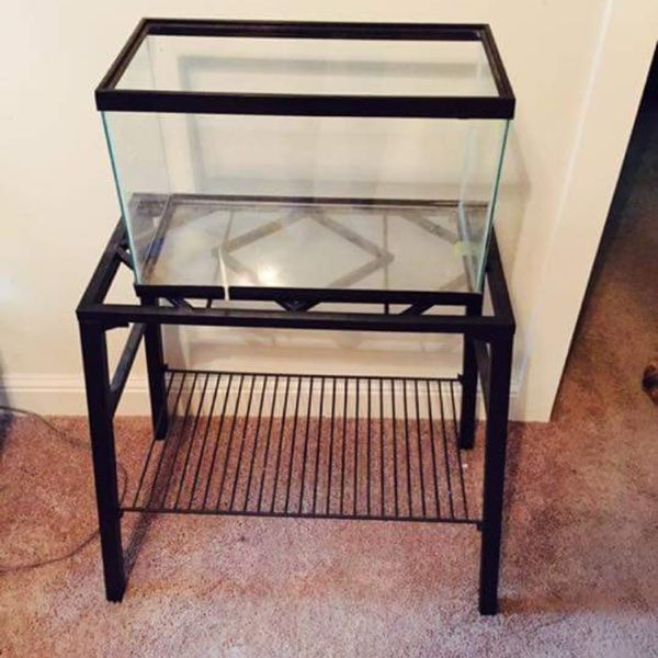 For Sale: 10 Gallon Fish Tank With Stand for $40