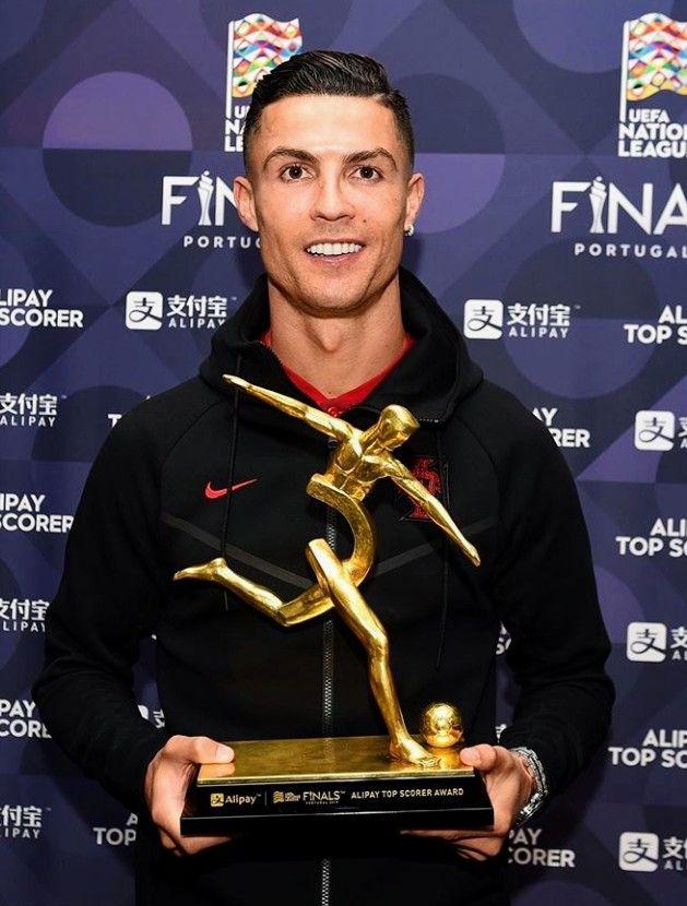 Cristiano Top Scorer Award Of Uefa Nations League 2019 Ronaldo Football Ronaldo Cristiano Ronaldo