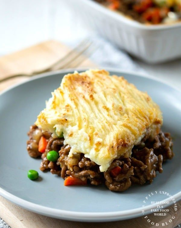 Traditional Shepherd S Pie With Ground Beef Recipe Beef Recipes Food