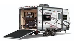 Toy Hauler Travel Trailers: Top 8 Brands (42 Models) - Best Travel Trailers Guide