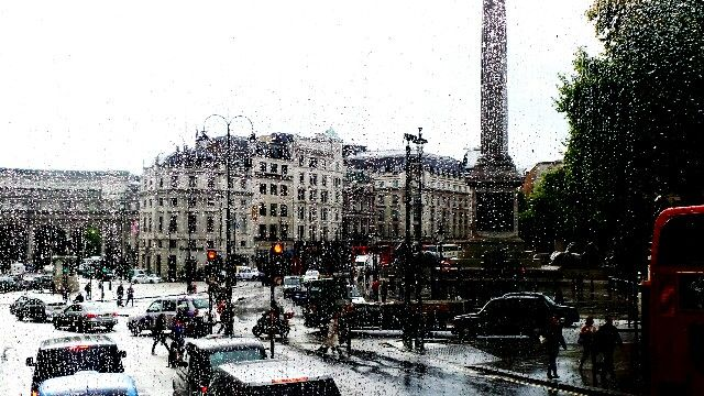 Rain in the city of #London