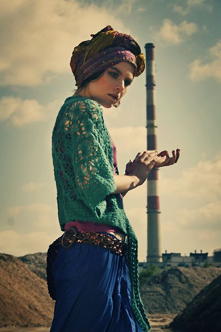 #exotic boho. For more ethnic style and tribal fashion visit: http://www.wandering-threads.com/