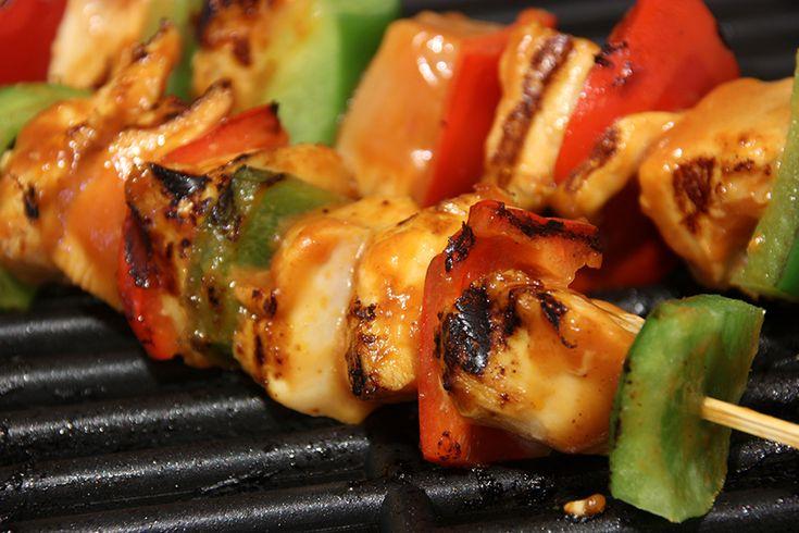 Marinade pour brochettes de poulet #recettesduqc #marinade