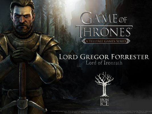 Lord Gregor Forrester. He served his house well, and saved Gared Tuttles life. House Forrester will make you proud. #IronFromIce