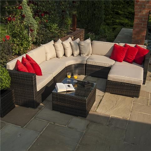 42 best rattan garden furniture images on pinterest rattan garden summer sale this gorgeous barcelona corner sofa set by maze rattan and white stores is now only 879 reduced from 1299 workwithnaturefo