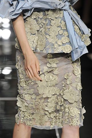 Elie Saab Fall 2008 Couture Collection Slideshow on Style.com