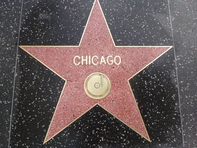 Chicago The Band - Hollywood Walk of Fame