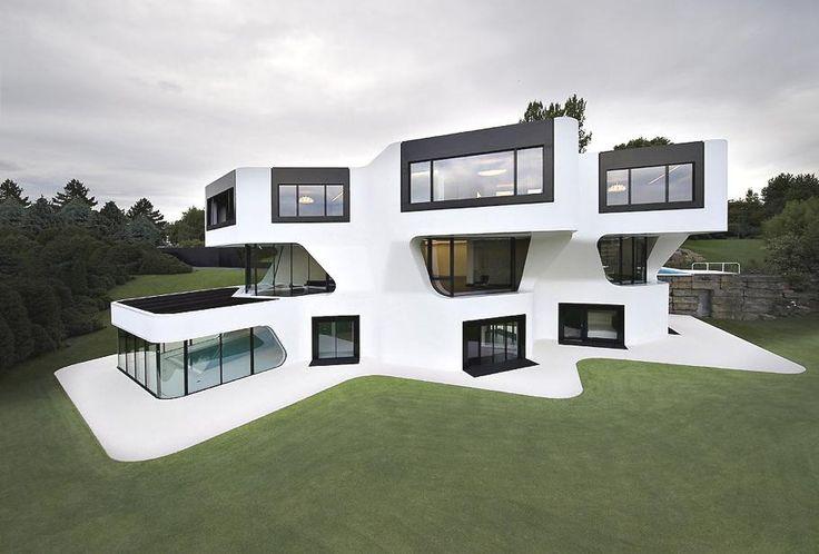 Футуристический дом Dupli Casa