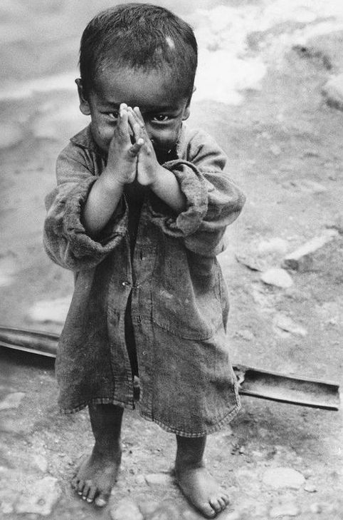 .some babies in this world not so lucky...and yet a smile....gratitude...we are blessed enough to try to help...