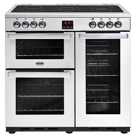 Belling COOKCENTRE 90E PROF S/S 900mm Electric Range Cooker Ceramic Hob S/Steel http://www.MightGet.com/january-2017-13/belling-cookcentre-90e-prof-s-s.asp