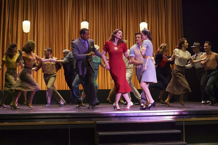 I've always wondered what an Agent Carter musical would look like....well it pretty much looks like this!