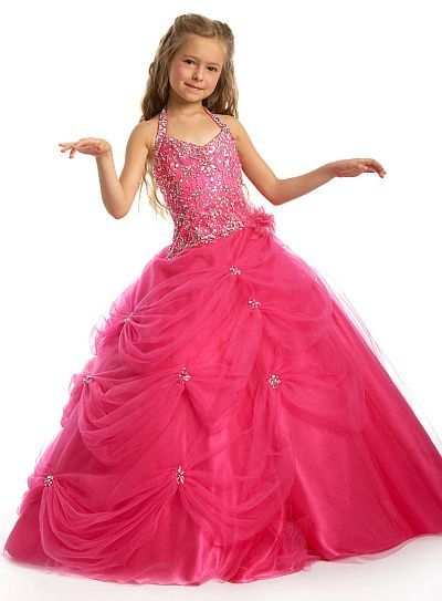 Perfect Angels Girls Pageant Dress Ball Gown 1403 by Party Time image