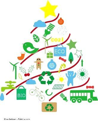 10 consejos para una Navidad más ecológica Proponemos consumir con moderación y elegir productos que favorezcan el desarrollo de empresas ecológicas y socialmente responsables. http://www.ecototal.com/econoticias/100-navidades-ecologicas