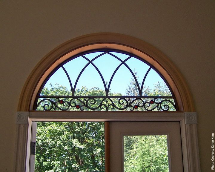 17 Best Images About Transom Window Treatments On