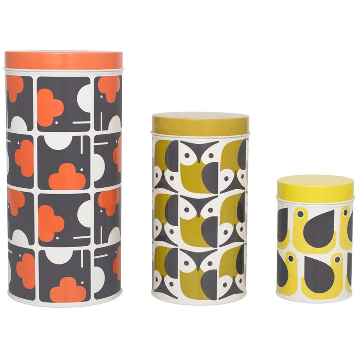 Buy Orla Kiely Canisters, Set of 3 Online at johnlewis.com