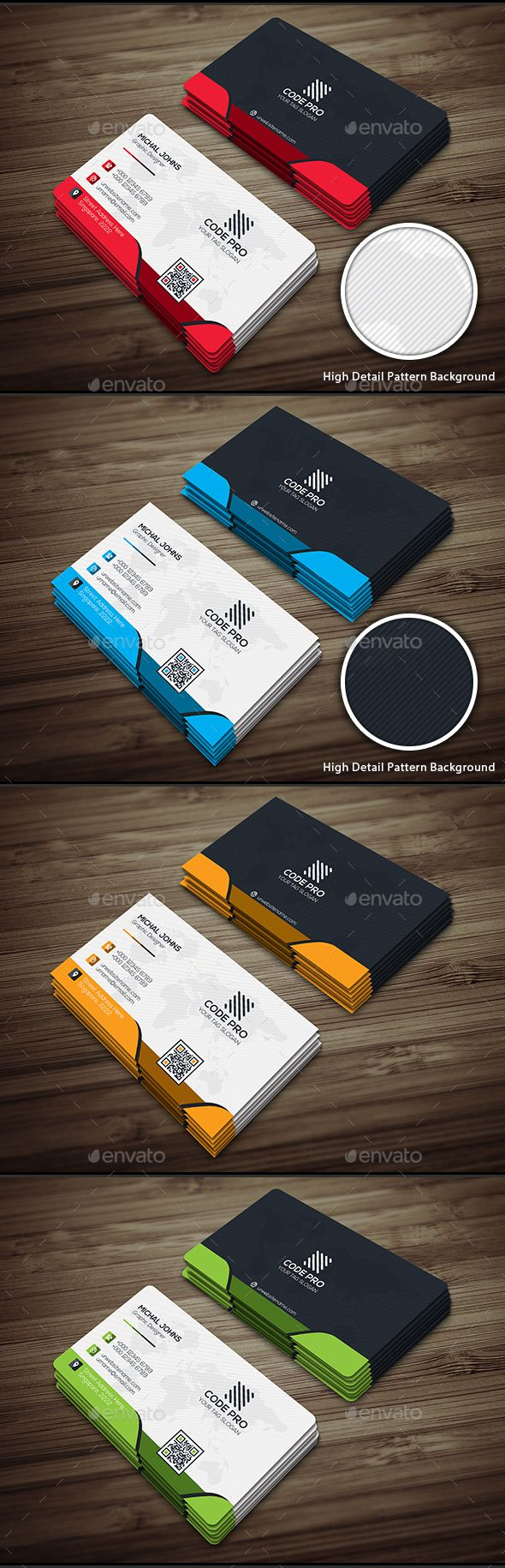 Creative Business Card - #Business Cards Print Templates Download here: https://graphicriver.net/item/creative-business-card/17209759?reff=classicdesignp