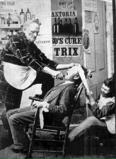 Dentiste 1892
