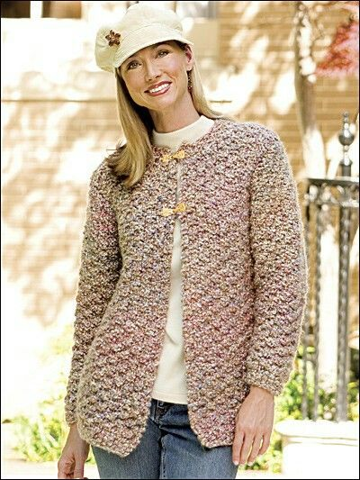 12 best Knitting Jacket & Coat Pattern Downloads images on ...