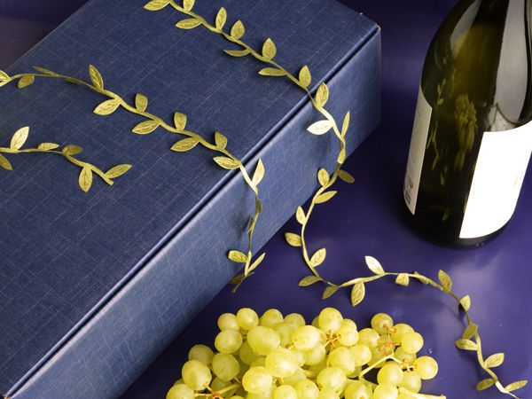 Corporate wine boxes in navy..it's the new black..