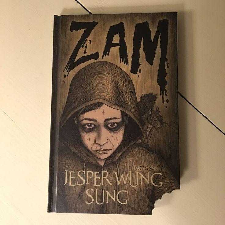 Zam er zombie - men en klog, god og hensynsfuld zombie! Eftertænksom børne/ungdomsbog  med god zombiehumor af Jesper Wung-Sung.