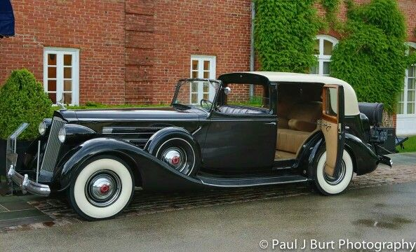 1937 V12 Packard Town Car...Re-Pin brought to you by #ClassicCarInsurance at #HouseofInsurance Eugene Oregon. Ask about agreed value policy(S).