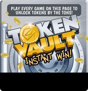 Instant Win Games Token Vault - Instant Win Bonus Game!
