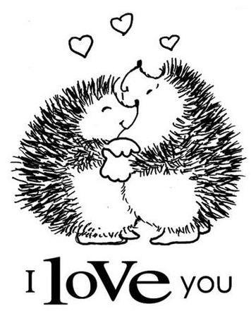 Margaret Sherry -Ouriço do Mato - I Love You