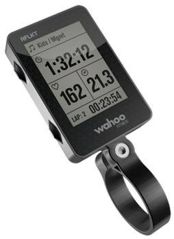 Wahoo RFLKT, posizionato sull manubrio della bici, si connette a sensori ed iPhone permettendo di monitorare i propri allenamenti.