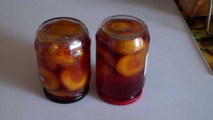 Персики в собственном соку на зиму