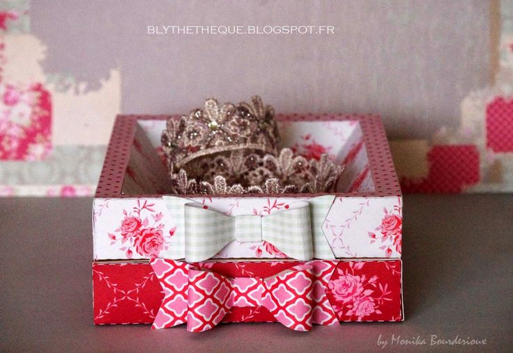Crafting for Blythe: Jewelry box