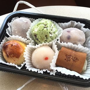 Mochi at Benkyodo (1747 Buchanan St.) | 35 Delicious Things To Eat In San Francisco That Aren't Burritos