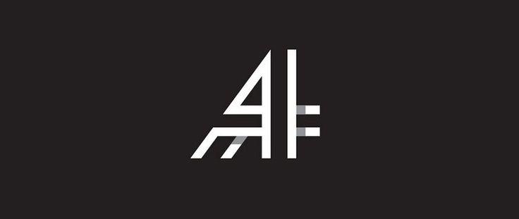Тенденции в дизайне логотипов 2016 - техника перекрытия элементов