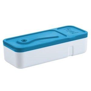 Этот удивительный ланч-бокс доказывает: поместить большую порцию еды в компактный по объему коробок возможно! Мало того, что этот ланч-бокс на два отделения не займет много места в вашей сумке или рюкзаке, так он еще и оснащен удобной пластиковой ложкой-ножом! Теперь вам не придется отдельно складывать эти два предмета – универсальная ложка-нож надежно зафиксирована на внутренней части крышки ланч-бокса!  Компания Trudeau с 1889 года успешно ведет свой бизнес, являясь одним из ведущих ...