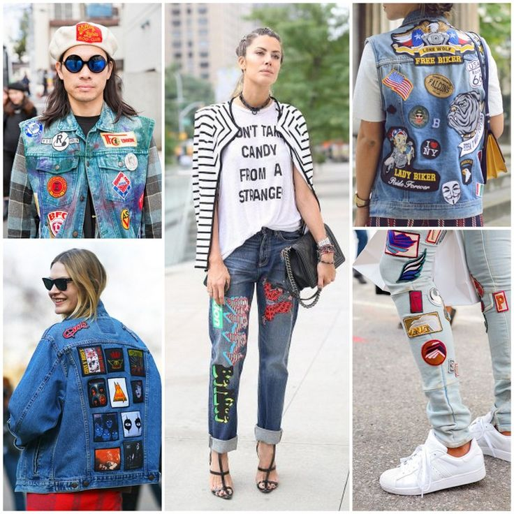 Does your old denim need fixed up? Add some patches to add some fun :-)