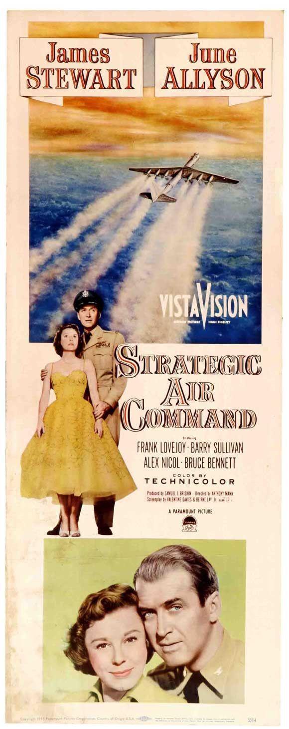 Strategic Air Command 14x36 Movie Poster (1955)