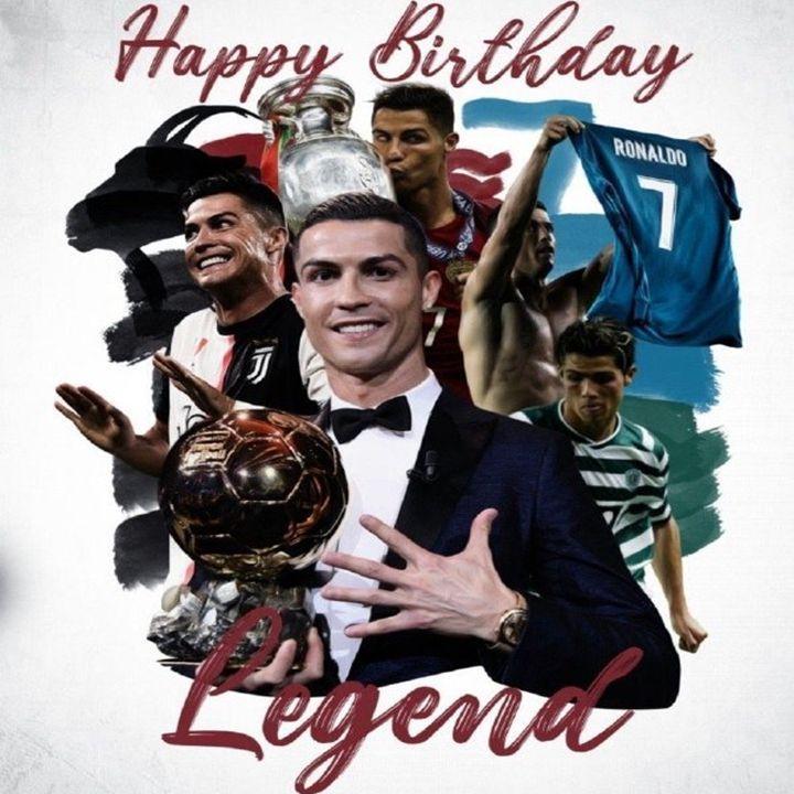 Selamat Ulang Tahun Cristiano Ronaldo🥳 di 2021   Selamat ...