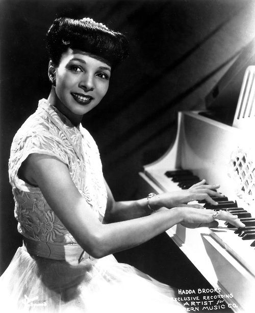 October 29, 1916 Queen of Boogie, Hadda Brooks, was born. She was a pianist, singer and composer. She passed in 2002, aged 86.