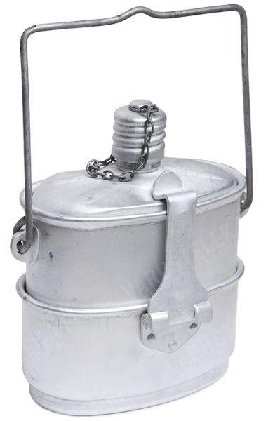 Soviet VDV canteen-messtin w/ pouch, surplus - Varusteleka.com
