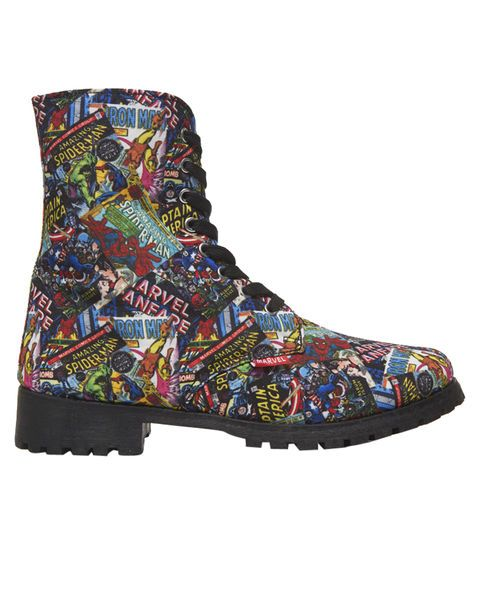 Marvel Comic Book Boots