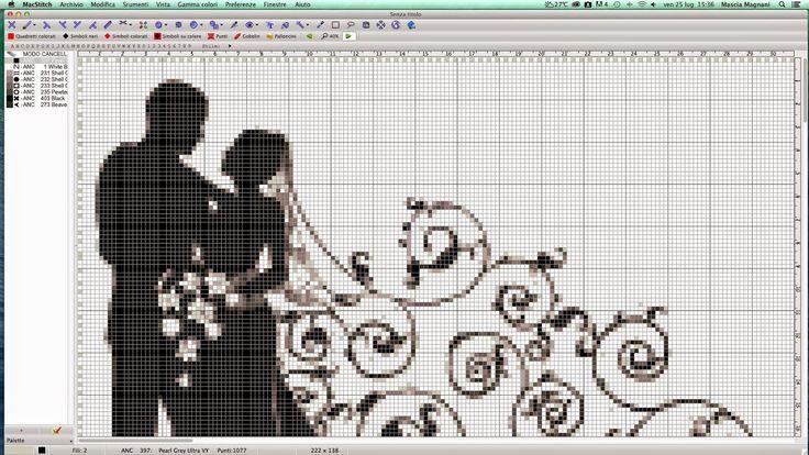 black and white wedding 2/3