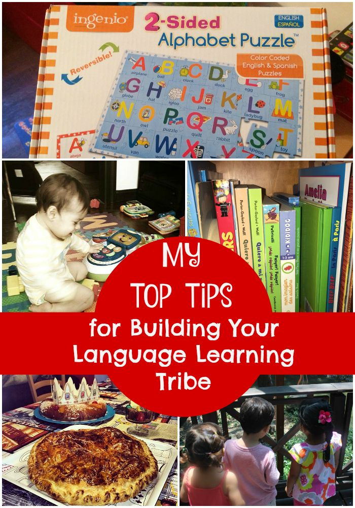 top tips for building your language learning tribe
