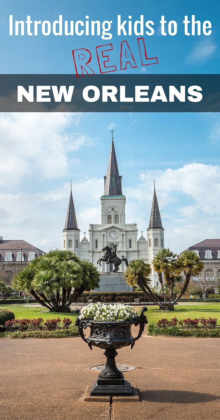 Bringing our kids to The Big Easy meant we skipped the activities most people associate with a vaycay in this city. But we had the chance to discover a side of New Orleans that was not only G-rated, but our whole family genuinely loved.