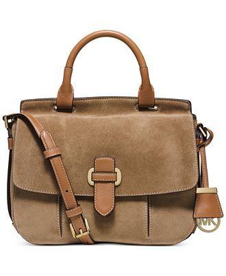MICHAEL Michael Kors Top Handle Messenger - Handbags & Accessories - Macy's