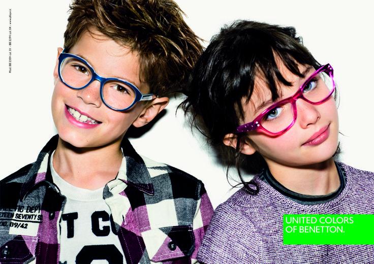 United Colors of #Benetton. Kreatives Design und Markenbrillen bei #Hartlauer Optik.